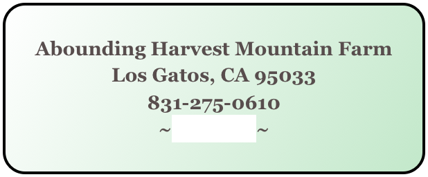Abounding Harvest Mountain Farm
